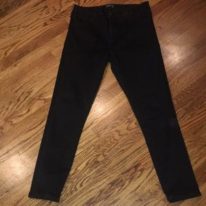 High Quality basic black jeans